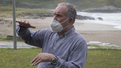 El geólogo Juan Ramón Vidal Romaní