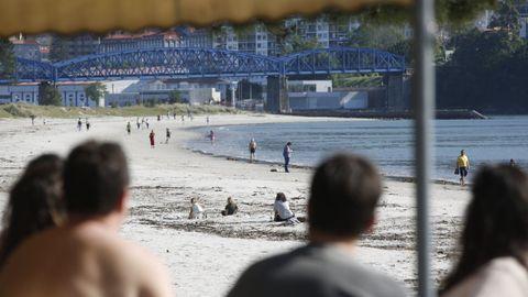Vista de archivo de la playa de Cabanas, en el mes de mayo del pasado ejercicio