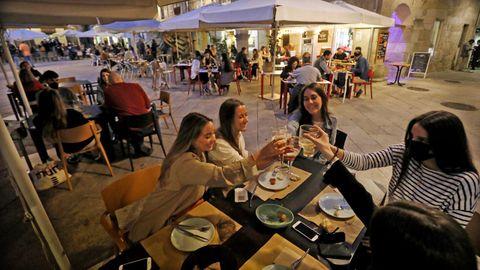 Cenas en el casco vello de Vigo
