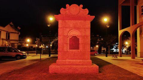 Monumento a Domingo Antonio de Andrade en Cee
