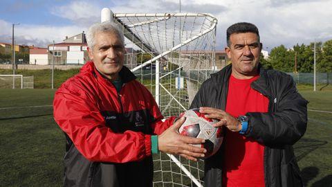 Raúl Nogueira y Luis Sobrino