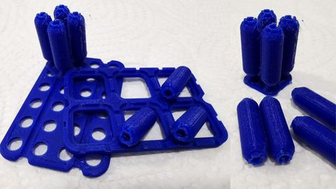 Vainas diseñadas y construidas con impresión 3D