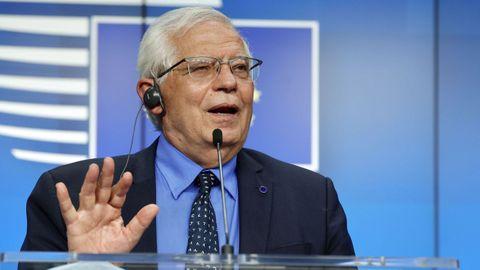 El jefe de la diplomacia europea, Josep Borrell
