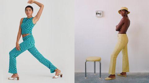 Más pantalones inspirados en cuadros de Paloma Wool