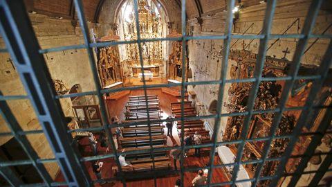 Retablos de la iglesia del convento de Santa Clara, en Pontevedra