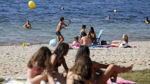 Playa del Lago de As Pontes