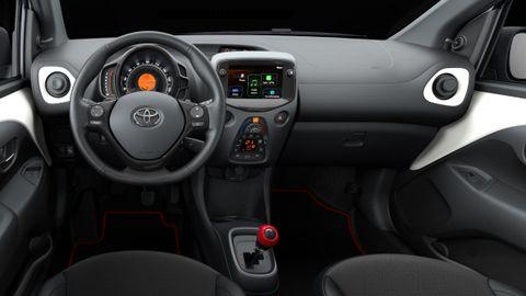 Interior del nuevo modelo de Toyota