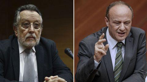 Alfonso Grau y Rafael Rubio, en una imagen de archivo