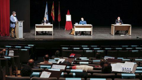 Pleno en el Concello de Ourense