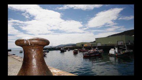 La protesta de los pescadores artesanales en Burela