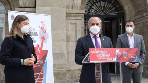 El presidente de la Diputación presenta un plan de impulso econópmico para la provincia