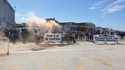 La protesta de mariscadores y pescadores en Cabo de Cruz