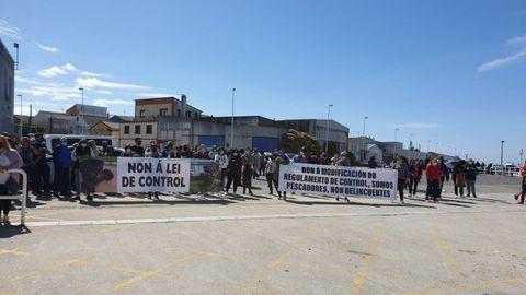 Otra escena de la protesta en Cabo de Cruz