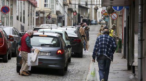 La calle Coruña es una de las propuestas como vía residencial