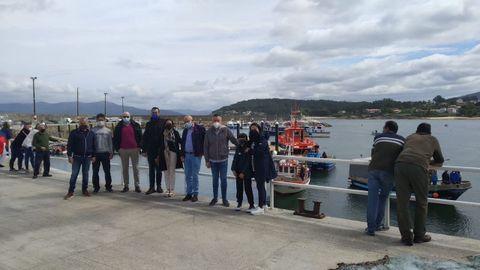 La protesta en Porto do Son