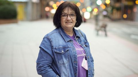 María Jesús Justel sufre fibromialgia