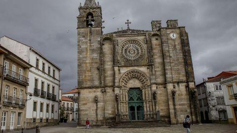 Iglesia de San Martiño, en Noia