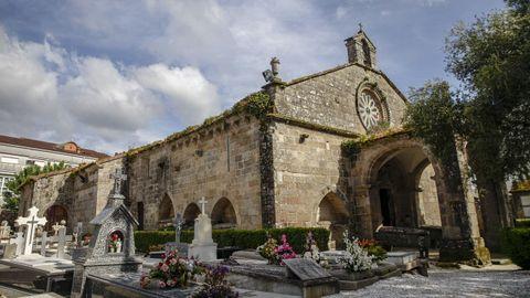 Iglesia de Santa María a Nova, en Noia