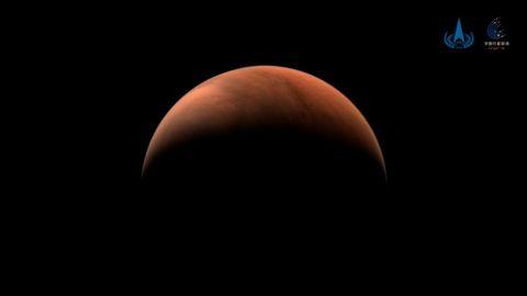 Imagen de Marte tomada por la nave espacial china Tianwen-1