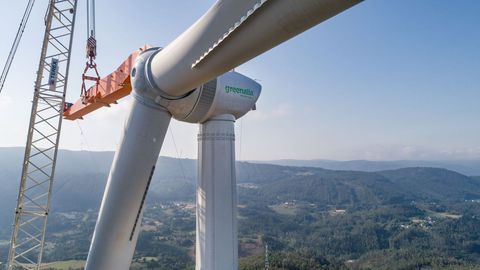 En Ourense hay 17 parques eólicos en funcionamiento