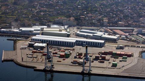 Vista exterior de la industria Gonvarri, especializada en la transformación de acero y aluminio