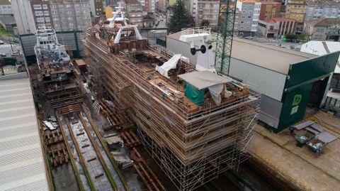 Nodosa, todo un referente internacional en la construcción y reparación de buques