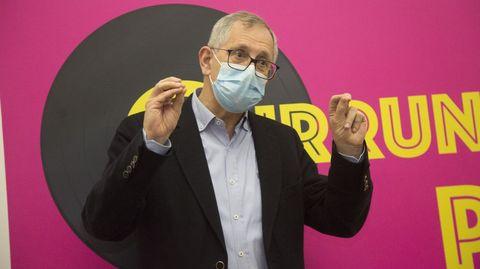 Evencio Ferrero, alcalde de Carballo