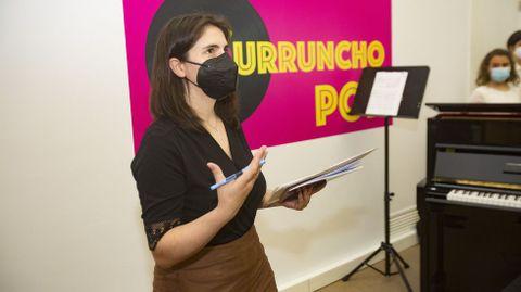 Patricia Blanco, xornalista de La Voz