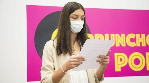 Primeiro premio: Irene Ramón Fernández, alumna do Manuela Rial Mouzo