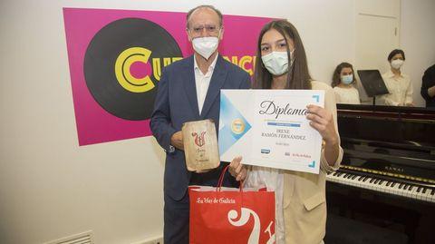 Primeiro premio: Irene Ramón Fernández