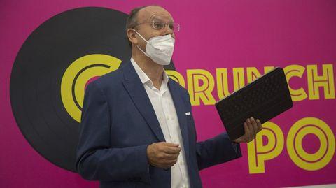Xosé Luís Vilela, director de La Voz de Galicia