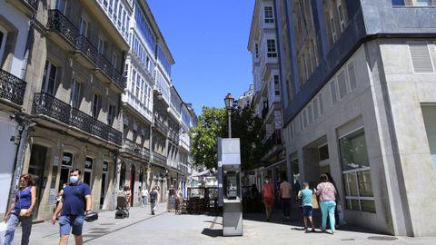 Calle Raíña de Lugo
