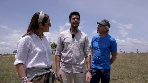 Paula Echevarría y Miguel Torres, en Kenia con Jesús Calleja