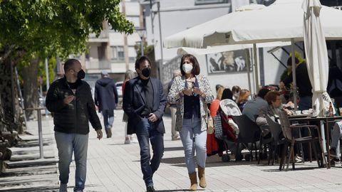 Imagen de Noia, concello en el que se han reducido los casos positivos y que podría abandonar esta semana el nivel medio de restricciones
