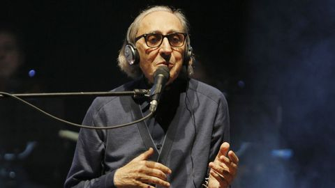 Franco Battiato, en el Palexco de A Coruña en el 2017