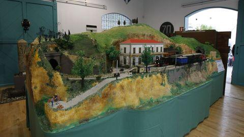 Estación de Os Peares convertida en Museo