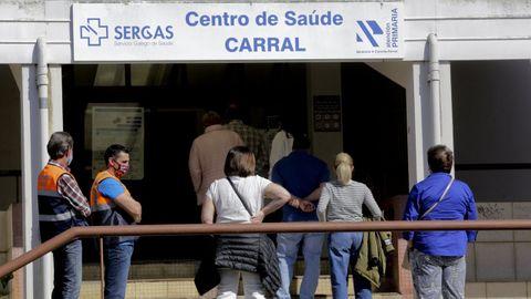 Imagen de archivo de un cribado realizado en el centro médico de Carral