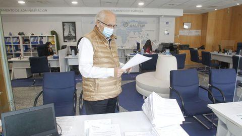 José Anca, gerente de Viajes Galitur, confía en que las agencias logren una cierta normalidad en octubre