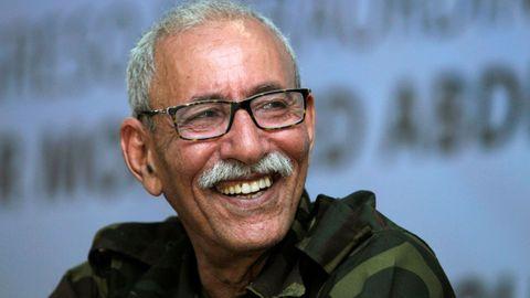 Brahim Ghali, en una imagen de archivo en Argelia