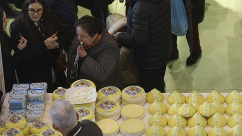 La feria del queso de Arzúa se celebró el año pasado, al tener lugar semanas antes de la declaración del estado de alarma