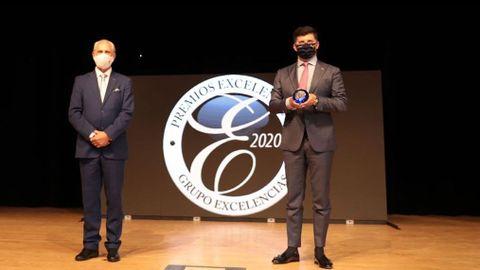 La Eurocidade Chaves-Verín recibió en Fitur el premio Excelencias Bienestar por sus programas turísticos