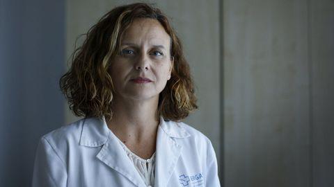Maria Jose Pereira, jefa de Medicina Preventiva del Chuac (A Coruña)