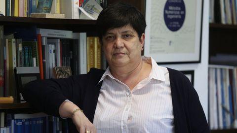 María Isabel Martínez Lage, primera mujer directora de la Escuela Técnica Superior de Caminos, Canales y Puertos de la Universidade da Coruña
