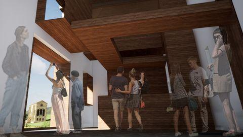 El Arzobispado de Oviedo presenta el proyecto para la conservación de la antigua Casa rectoral de Santa María del Naranco