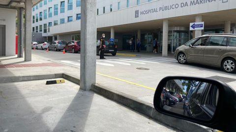 Decenas de viveirenses han sido citados estos días en el Hospital da Mariña para hacerse pruebas de detección de coronavirus