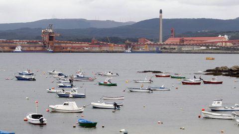 La Autoridad Portuaria de Ferrol gestiona el puerto de San Cibrao, que explota en exclusiva la multinacional Alcoa