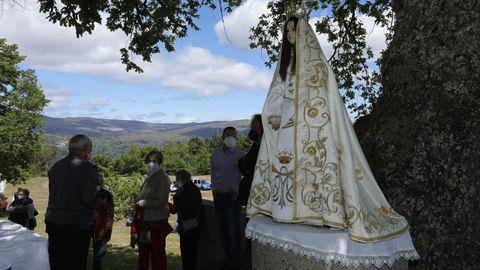 La romería de Nosa Señora do Viso es una de las más tradicionales de Baixa Limia