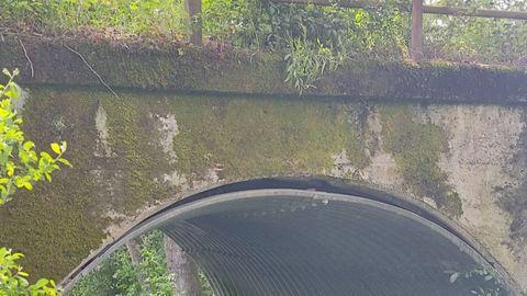 Estado del puente de Solveira en Xinzo