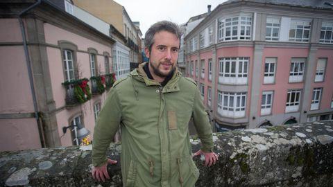 Rubén Arroxo, BNG, teniente de alcalde de Lugo