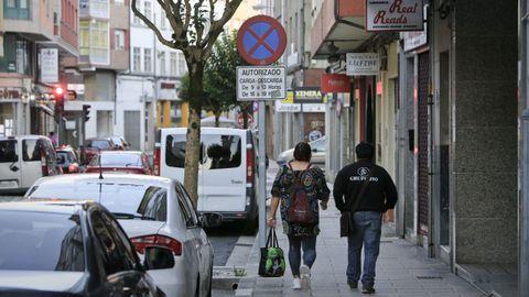 La intervención tuvo lugar en la calle Camiño Real, el pasado sábado